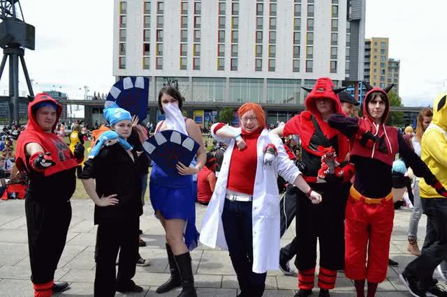 Watch Pokemon Team Assemble! GIF by Tom Wilkinson (@tomw2005) on Gfycat. Discover more ComicCon, Kyogre, Pokemon GIFs on Gfycat