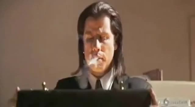 Watch and share Pulp Fiction GIFs and Tarantino GIFs on Gfycat