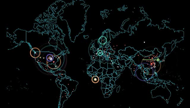Watch and share The Vast Majority Of Attacks Are Directed At The United States. GIFs on Gfycat