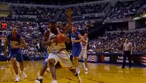 Watch Jermaine O'Neal  Indiana Pacers GIF on Gfycat. Discover more 121502, 2000s, 200203, Basketball, Dunk, Indiana Pacers, Jermaine O'Neal, NBA, gif GIFs on Gfycat