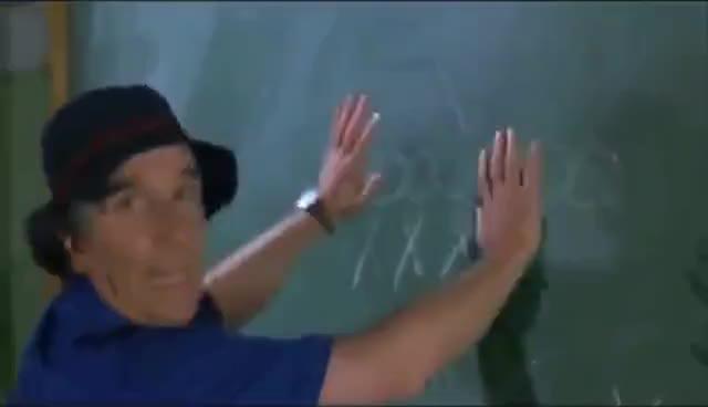 adam sandler, chalkboard, henry winkler, Best of Coach Klein - The Waterboy GIFs