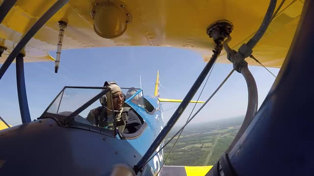 Hammerhead and Low Pass in the Stearman GIF by Gravekeeper