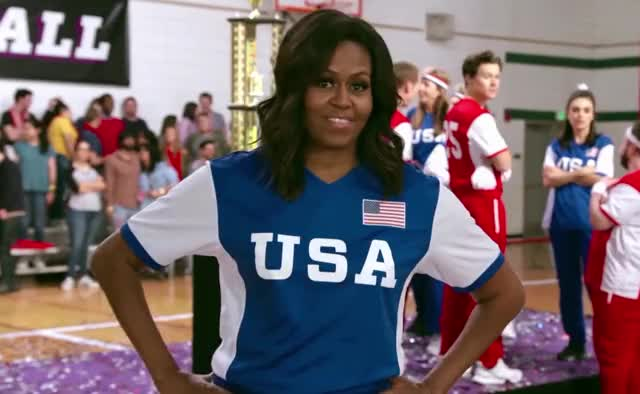 Watch and share Michelle Obama GIFs and America GIFs by Deus GIF Machina on Gfycat