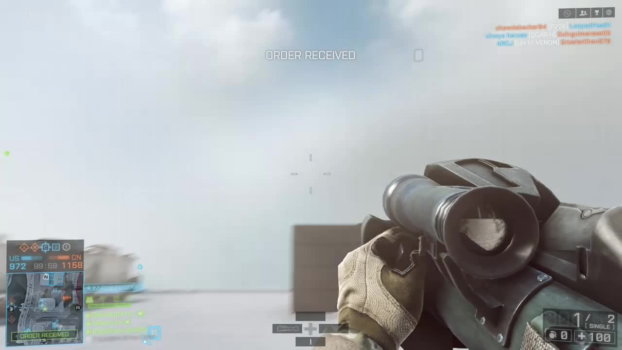 battlefield 4, bf4, xbox one, BF4 Xbox one - Transport Heli Law kill GIFs