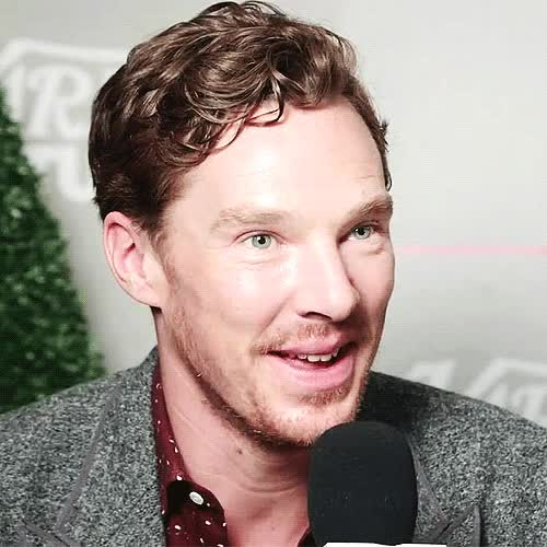 Watch and share Benedict Cumberbatch GIFs and Microphone GIFs on Gfycat