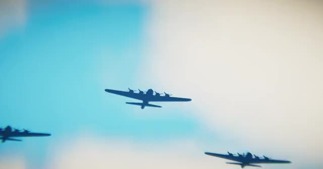 Watch B17FlyingFormation GIF by HOT TIN CAT (@jezbot404) on Gfycat. Discover more Aeroplane, Altitude, B17, Bomber, BombingRun, Clouds, FlyingFortress, Formation, Historic, Maya, Propellor, Quixel, Raid, Sky, SkyHigh, Substance, SubstancePainter, Unity3D, WW2, WWII GIFs on Gfycat