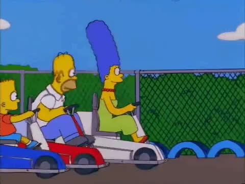 marge, simpsons, slow, Slow GIFs