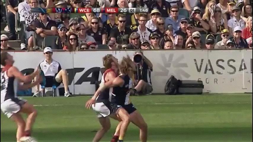 nicecatch, Australian footballer Jeremy Howe proves white men CAN jump. (reddit) GIFs