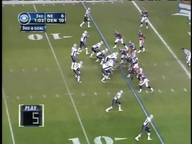 Watch and share 2005 AFC Divisional Playoff Game: Patriots @ Broncos GIFs by casimir_iii on Gfycat