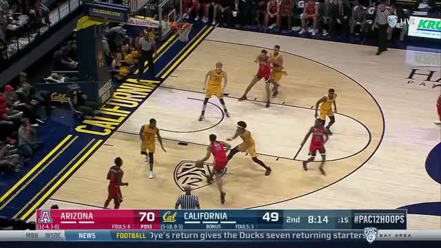 Watch and share Ira Lee Slam GIFs by Daily Cal Sports on Gfycat
