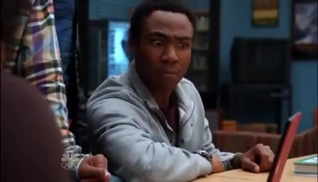 Watch Donald Glover GIF on Gfycat. Discover more Community, Donald Glover GIFs on Gfycat