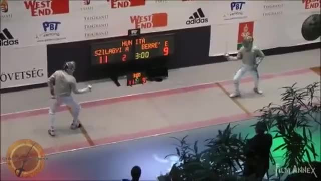 Watch and share Szilagyi V Berre' Counterattack Parry GIFs on Gfycat