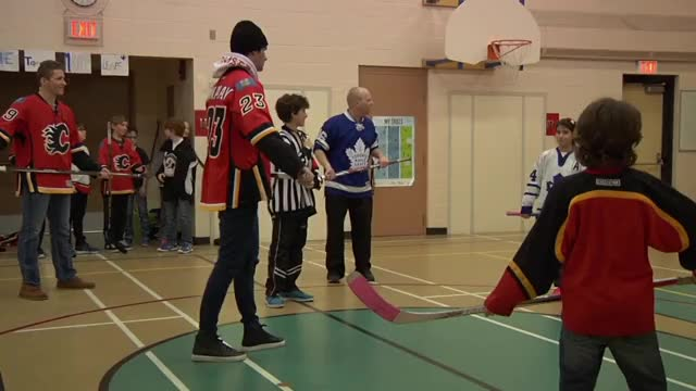 Watch Monahan & Tkachuk's School Visit GIF by @galaxy9112 on Gfycat. Discover more calgaryflames GIFs on Gfycat