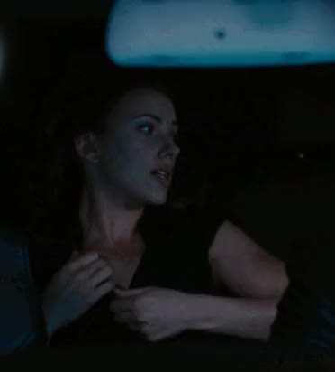 scarlett Johansson must have thought that babe was filming some other Fake Taxi movie scene during filming this scene