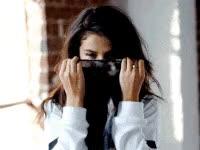 Watch and share Cute, Peek-a-boo, Smile, Happy, Flirt GIFs on Gfycat