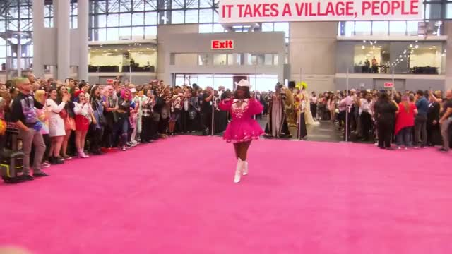 Watch Queen Entrances at RuPaul's DragCon NYC 2018 GIF on Gfycat. Discover more related GIFs on Gfycat