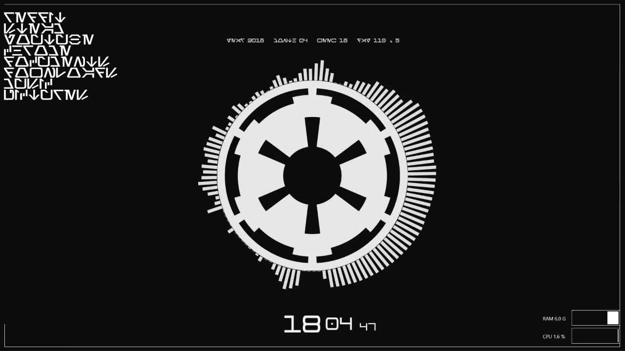 empiredidnothingwrong, rainmeter, Just a normal day on my terminal. (X-post from r/rainmeter) (reddit) GIFs