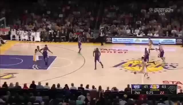 Watch this trending GIF on Gfycat. Discover more lakers GIFs on Gfycat