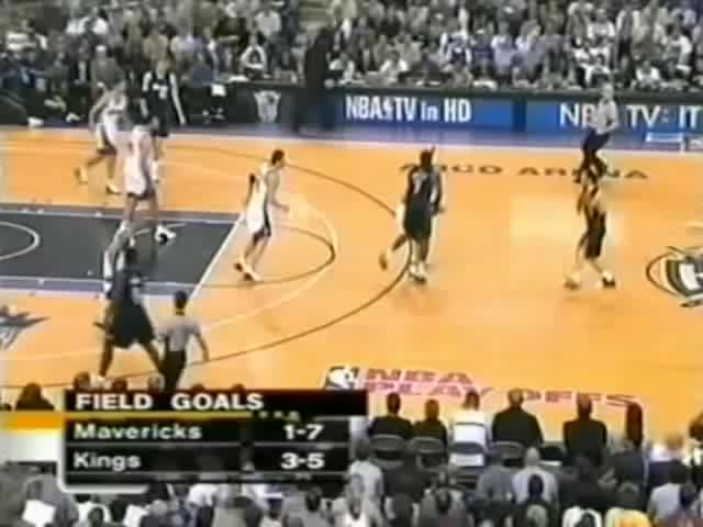 Watch Mavericks at Kings 2003 Game 3 2OT GIF on Gfycat. Discover more 2003, Blazers, Chris, Dallas, Dirk, Flexen Schnitzel, Jason, Kaman, Kidd, Kings, Mavericks, Mavs, NBA, Nowitzki, Playoffs, Sacramento, Sports, exel, van GIFs on Gfycat