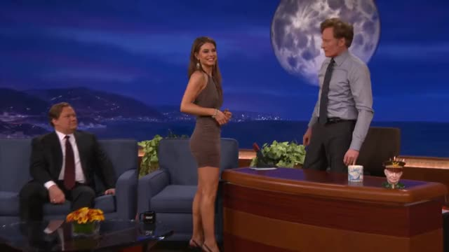 Watch Maria Menounos Is Tight & Can Take A Punch - CONAN on TBS GIF on Gfycat. Discover more dancing with the stars, maria menounos, talkshowgirls GIFs on Gfycat
