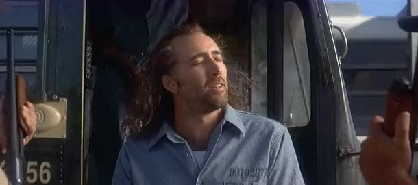 Watch and share Blowing Hair GIFs and Nicolas Cage GIFs on Gfycat