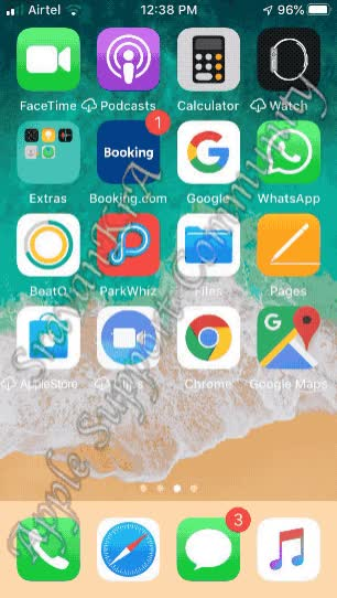 Watch and share Save Safri WebPage To Home Screen GIFs by sravankra on Gfycat