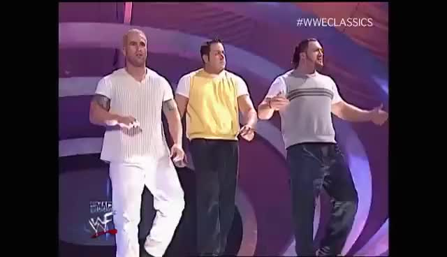 Watch La_Resistance_Smackdown 2003 GIF on Gfycat. Discover more WWE GIFs on Gfycat