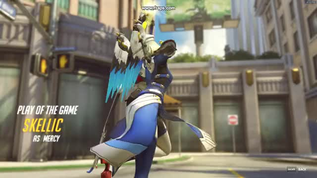 Watch and share Overwatch GIFs and Mercy GIFs by skellic on Gfycat