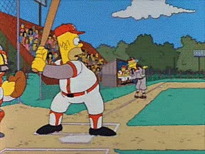 Watch and share The Simpsons GIFs and Softball GIFs on Gfycat