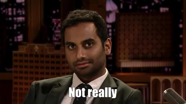 Watch this really GIF by The GIF Forge (@leahstark) on Gfycat. Discover more aziz ansari, jimmy fallon, no, not really, the tonight show GIFs on Gfycat
