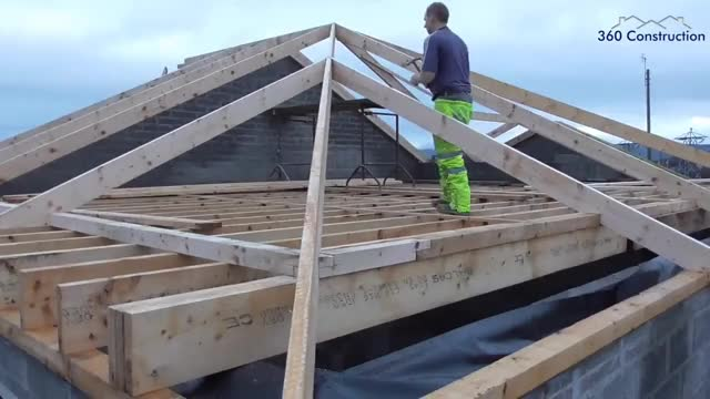 Watch and share Roofing - Rafter Assembly GIFs on Gfycat