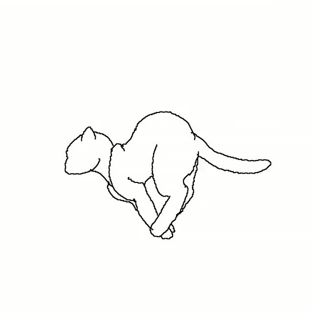 Watch and share Rose131313-Running Cat Animation By Rose131313 GIFs on Gfycat