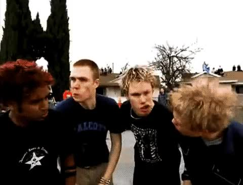 Watch and share Sum 41 GIFs on Gfycat