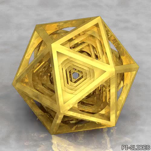 Watch and share Icosahedral Layers GIFs and Artists On Tumblr GIFs on Gfycat