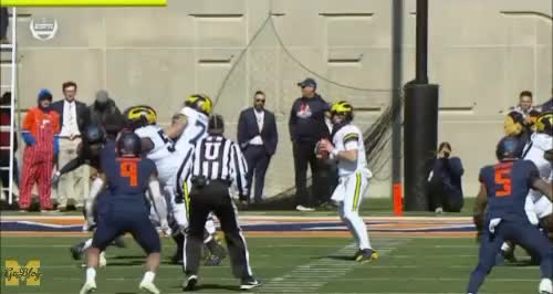 Watch and share Shea Patterson GIFs and Nick Eubanks GIFs by MGoBlog on Gfycat
