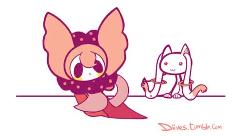 Watch Charlotte and Kyubey • Madoka Magica GIF on Gfycat. Discover more related GIFs on Gfycat