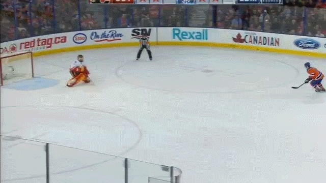 edmontonoilers, hockey, Purcell SO goal GIFs