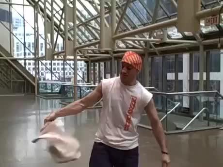 Pizza juggling GIFs