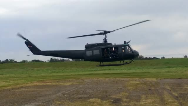 Watch and share Bell UH-1H Huey Startup And Take Off GIFs on Gfycat