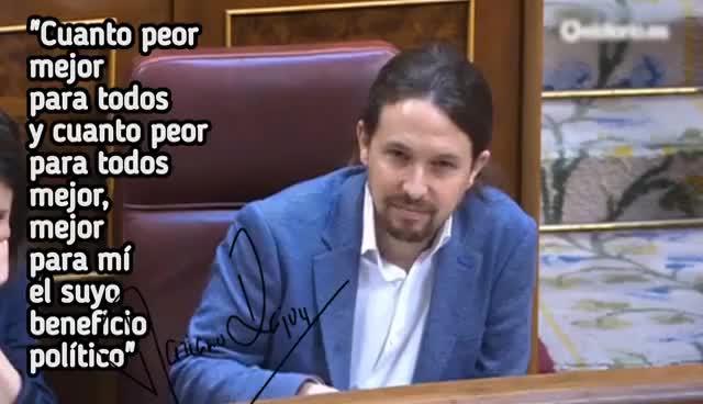 """Watch El rap de Rajoy - """"Cuanto peor mejor para todos..."""" GIF on Gfycat. Discover more related GIFs on Gfycat"""