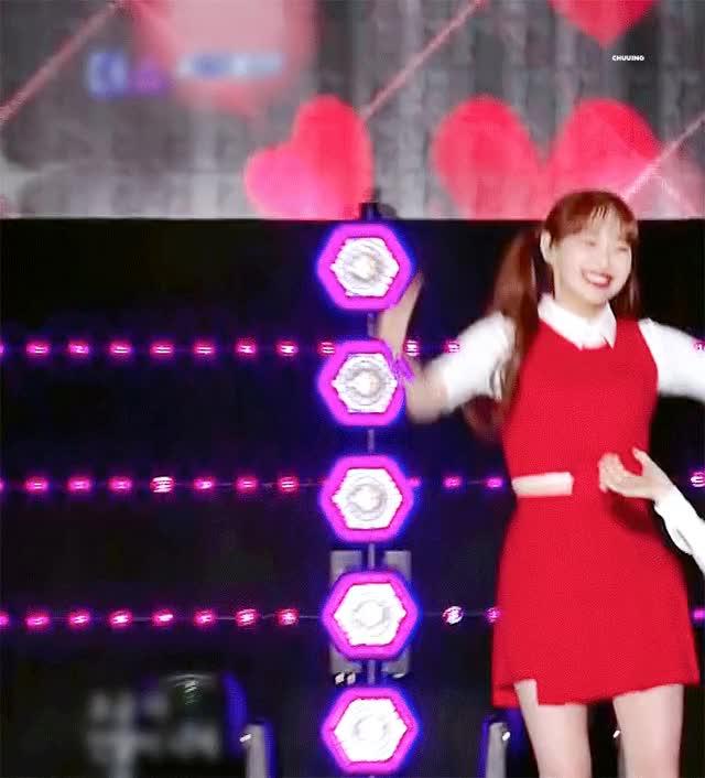 Watch and share 이달의소녀 츄 GIFs on Gfycat