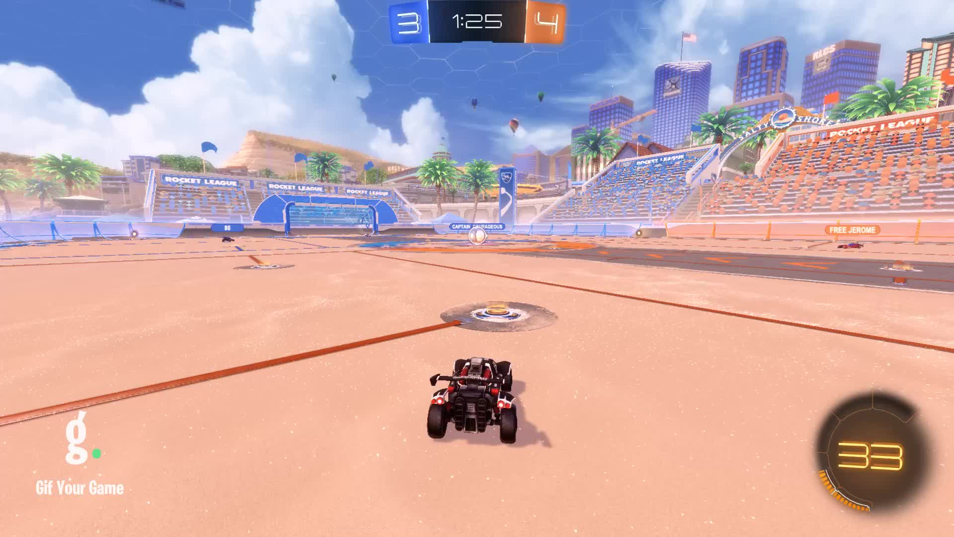 Gif Your Game, GifYourGame, Goal, M15, Rocket League, RocketLeague, Goal 8: M15 GIFs