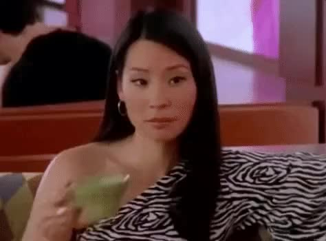 Watch and share Lucy Liu GIFs by Reactions on Gfycat