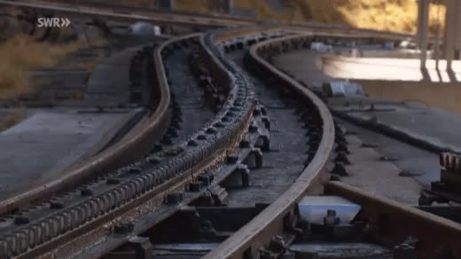 Watch and share An Unusual Train Junction Switch GIFs on Gfycat