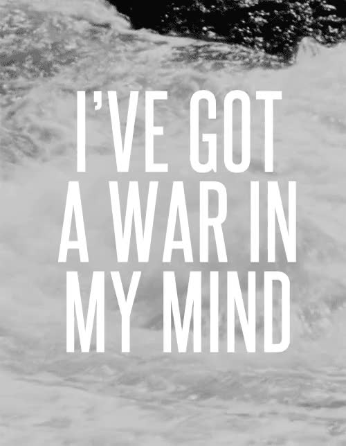 Watch and share I've Got A War In My Mind GIFs on Gfycat