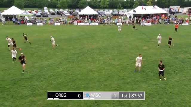 Watch and share Oregon V Wisco 1 GIFs on Gfycat
