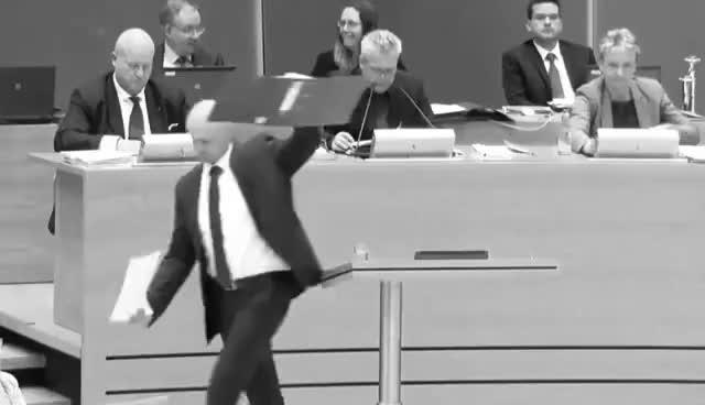 Watch AfD Sachsen versucht Änderungsanträge einzubringen... GIF on Gfycat. Discover more related GIFs on Gfycat