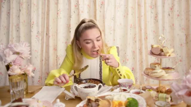 Watch and share Florence Pugh GIFs by wtr1023 on Gfycat