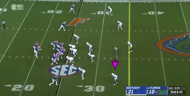 Watch and share 2019 NFL Draft: Lonnie Johnson DPI V. Fade Even With Zone Coverage GIFs by Matt Weston on Gfycat