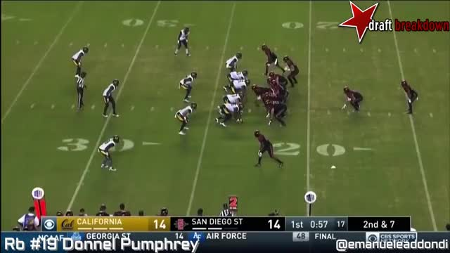 Watch and share Donnel Pumphrey Vs Cal(2016) GIFs on Gfycat